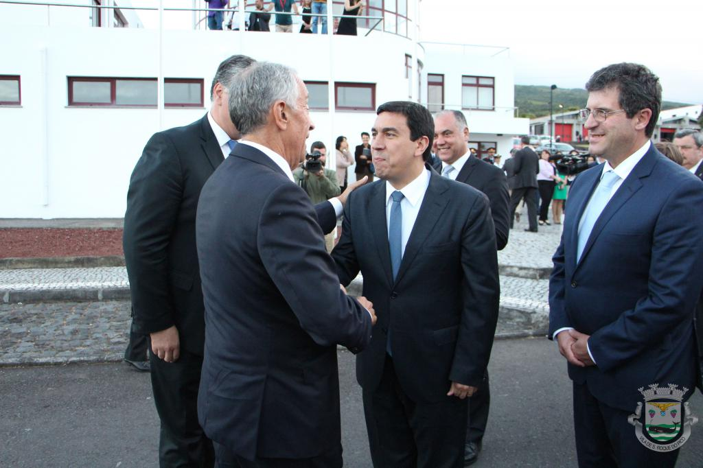 Visita do Presidente da República à ilha do Pico